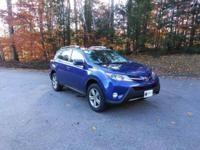Take command of the road in the 2015 Toyota RAV4!