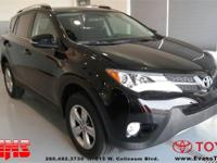 Fully Detailed, Safety Inspected by Evans Toyota, and
