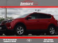 2015 Toyota RAV4 XLE in Barcelona Red Metallic, **ONE