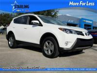 New Price! This 2015 Toyota RAV4 XLE in White features:
