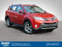 Options:  2015 Toyota Rav4 Xle|Barcelona Red