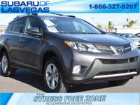 New Price! Clean CARFAX.   Gray 2015 Toyota RAV4 XLE