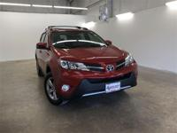 Red 2015 Toyota RAV4 XLE FWD 6-Speed Automatic 2.5L