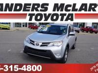 CarFax 1-Owner, This 2015 Toyota RAV4 FWD 4dr XLE will