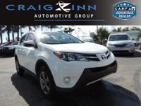 CarFax 1-Owner, LOW MILES, This 2015 Toyota RAV4 XLE