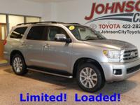 New Price! 2015 Silver Sky Metallic Toyota Sequoia CALL
