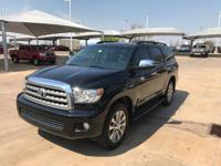 We are excited to offer this 2015 Toyota Sequoia. Drive