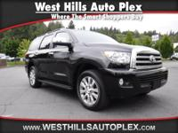 SEQUOIA LIMITED 4D SUV 4X4  Options:  Navigation System