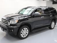 2015 Toyota Sequoia with Leather Seats,Power Front
