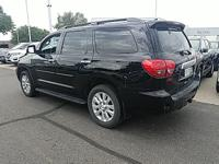 Clean CARFAX. Black 2015 Toyota Sequoia Platinum 4WD