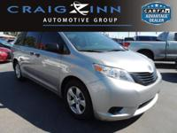 New Arrival! CarFax 1-Owner, This 2015 Toyota Sienna L