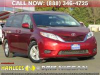 Options:  2015 Toyota Sienna Le|Red|Check Out This 2015