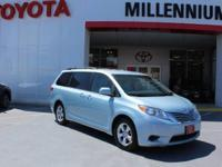 This outstanding example of a 2015 Toyota Sienna 5dr