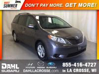 2015 Toyota Sienna LE 8 Passenger Local Trade, 3rd row