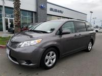 Options:  2015 Toyota Sienna Le|Carfax One-Owner. Clean
