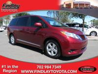 ~ 2015 Toyota Sienna LE ~ CARFAX: 1-Owner, Buy Back