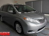 CARFAX One-Owner. Certified. 2015 Toyota Sienna LE 7
