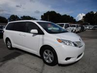Options:  2015 Toyota Sienna Le Aas|Come And Visit Us