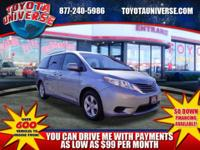 Excellent Condition, Toyota Certified, CARFAX 1-Owner,