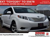 CARFAX One-Owner. Clean CARFAX. Super White 2015 Toyota