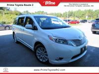New Price! Certified. 2015 Toyota Sienna Limited
