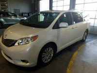 This outstanding example of a 2015 Toyota Sienna XLE is