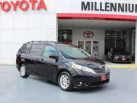 This 2015 Toyota Sienna XLE FWD NAVIGATION MOONROOF is