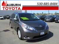 LOW MILES, LEATHER, MOON ROOF!  This 2015 Toyota Sienna