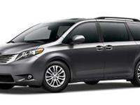 This 2015 Toyota Sienna XLE is offered to you for sale