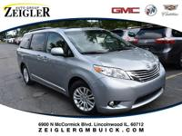 Recent Arrival! Silver 2015 Toyota Sienna Limited 18 x
