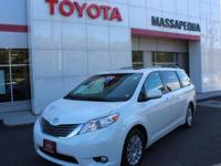 Certified. Wh 2015 Toyota Sienna LE FWD 6-Speed
