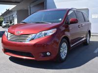 PREMIUM & KEY FEATURES ON THIS 2015 Toyota Sienna