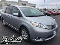 Recent Arrival! Certified. 2015 Toyota Sienna in