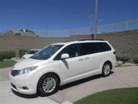 Here is a low mileage 2015 Toyota Sienna XLE that is in