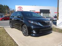 2015 Toyota Sienna Certified. CARFAX One-Owner.
