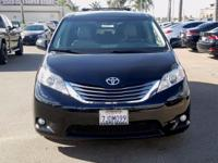 Options:  2015 Toyota Sienna Xle|Black|Blind Spot