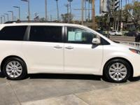 Options:  2015 Toyota Sienna|White/|V6 3.5 L