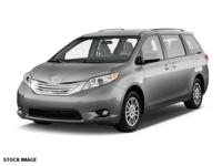 Get away in this 2015 Toyota Sienna LTDPREM and