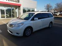We are excited to offer this 2015 Toyota Sienna. Drive