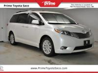 CARFAX One-Owner! Toyota Certified! 2015 Toyota Sienna