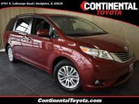 2015 Toyota Sienna XLE Salsa Red Pearl * ONE OWNER *, *