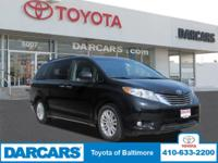 Step into the 2015 Toyota Sienna! An awesome price