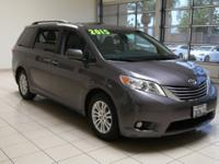 TOYOTA SIENNA XLE MINIVAN, One Owner, LOCAL TRADE, Low