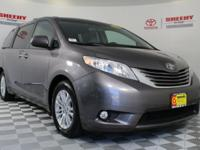 Recent Arrival! 2015 Toyota Sienna XLE Certification