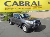 Outstanding design defines the 2015 Toyota Tacoma! It