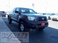 2015 Toyota Tacoma Access Cab Magnetic Gray Metallic