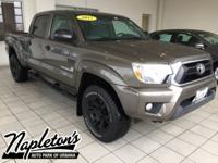 Recent Arrival! 2015 Toyota Tacoma in Brown, 4WD, ABS