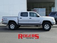 This Toyota Tacoma has a V6, 4.0L high output engine.