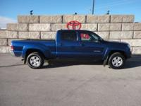 Blue Ribbon Metallic 2015 Toyota Tacoma V6 4WD 5-Speed