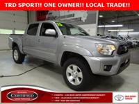 * TRD SPORT *, * TOYOTA CERTIFIED ONE OWNER *, * LOCAL